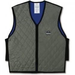 Ergodyne - 12547 - Chill-its 6665 Evaporative Cooling Vest 3xl Gray