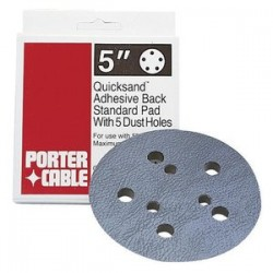 "Porter Cable - 13901 - 5"" Standard 5-hole Adhesive-back Replacement"