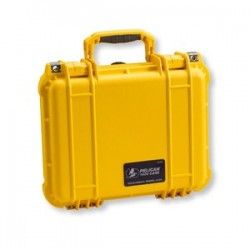 Pelican - 1400-000-240 - Pelican Rugged Case, 1400-000-240, Military Grade, Pick and Pluck, 11.81x8.87x5.18, Yellow