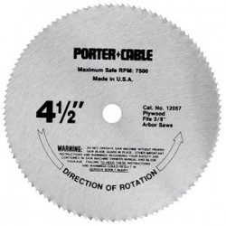 Porter Cable - 14104 - Saw Blade Dry Cut