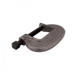 Wilton - 14518 - O Series Bridge C-Clamp - Full Closing Spindle, 0 In. to 1-7/16 In. Jaw Opening, 1-1/8 In. Throat Depth