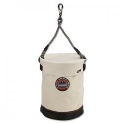 Ergodyne - 14540 - Arsenal 5740T Leather Bottom Bucket with Swivel and Top Arsenal 5740T Leather Bottom Bucket with Swivel and Top