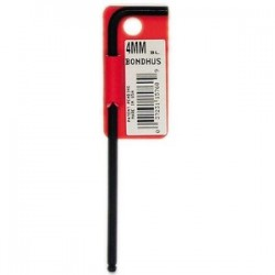 "Bondhus - 15754 - 2.5mm L Wrench 3.5"" Oal Bondhus (moq=10)"
