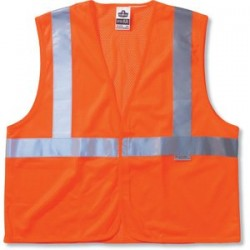 Ergodyne - 21133 - GloWear 8220HL Orange Class 2 Standard Vest - S/M