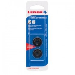 Lenox - 21192TCW158C2 - Lenox Black Stainless Steel Tube Cutter Wheel With Rubberized Handle (For Use With Cutting Copper) (2 Per Pack)