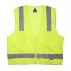 Ergodyne - 21429 - Glowear 8250z Class 2 Surveyor Vest Lime 4xl/5xl