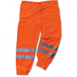 Ergodyne - 22853 - GloWear 8910 Class E Orange Hi-Vis Pants - S/M