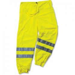 Ergodyne - 22955 - GloWear 8910 Class E Hi-Vis Lime Green Pant - L/XL GloWear 8910 Class E Hi-Vis Lime Green Pant - L/XL
