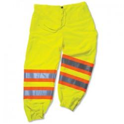 Ergodyne - 22969 - Glowear 8911 Class E Two-tone Pants Lime 4-5xl