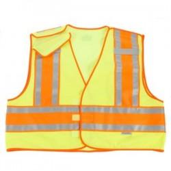 Ergodyne - 23399 - Glowear 8245 Public Safety Vest Lime 4xl/5xl