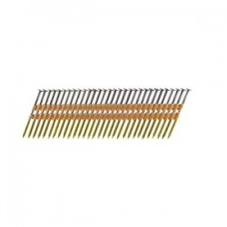 B&C Eagle - 238X113R/22B - (5M) 2-3/8 In. x .113 Full Round Head Ring Shank Plastic Collated Framing Nails, 5, 000/Box