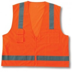 Ergodyne - 24019 - Glowear 8249z Cls 2 Econsurveyors Vest 4-5xl Or