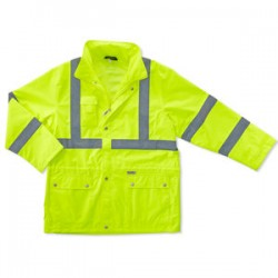 Ergodyne - 24328 - Glowear 8365 Class 3 Rain Jacket Lime 4xl