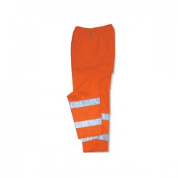 Ergodyne - 24412 - Glowear 8915 Cls E Hi-vis Rain Pants Orange Sm