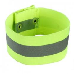 Ergodyne - 29013 - Reflective Lime Arm/Leg Band - Button Snap Closure