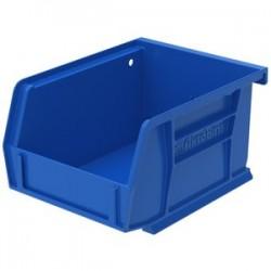Akro-Mils / Myers Industries - 30210B - Akro-Mils AkroBin - 3 Height x 4.1 Width x 5.4 Depth - Rack-mountable - Blue - Polymer - 1Each