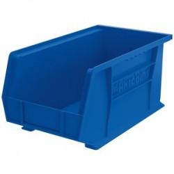 Akro-Mils / Myers Industries - 30240B - Akro-Mils AkroBin - 7 Height x 8.3 Width x 14.8 Depth - Rack-mountable - Blue - Polymer - 1Each