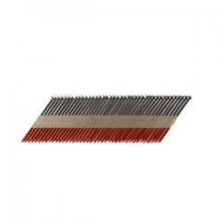 B&C Eagle - 314X131/33 - (2.5M) 3-1/4 In. x .131 Offset Round Head Paper Collated Smooth Shank Bright Framing Nails, 2, 500/Box