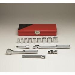 "Wright Tool - 335 - 14 Pc. 6 Pt. 3/8"" Drivesocket Set"
