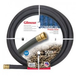 "Gilmour - 38-34050 - 3/4""x50' Rubber Commercial Hose 11271"
