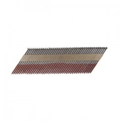 B&C Eagle - 3X120R/33 - (2.5M) 3 In. x .120 Offset Round Head Paper Collated Ring Bright Framing Nails, 2, 500/Box