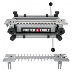 "Porter Cable - 4212 - 12"" Dovetail Templet W/hss Bit-templet Guide&nut"