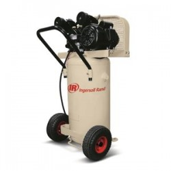 Ingersoll-Rand - 42663401 - Ingersoll Rand 2 HP 5.5 CFM 135 PSI Portable Single-Stage Garage Mate Air Compressor With 20 Gallon Vertical Tank, ( Each )