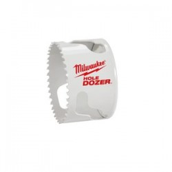 Milwaukee Electric Tool - 49-56-0137 - 2 5/16' Milwaukee Ice Hardened Bi-Metal Hole Saw For Use With 49-56-7210, 49-56-7240, 49-56-7250 And 49-56-9100 Quick-Change Arbors (Boxed), ( Each )