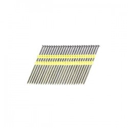 B&C Eagle - 518X148/22 - 5-1/8 In. x .148 Full Round Head Plastic Collated Smooth Bright Framing Nails, 1, 800/Box