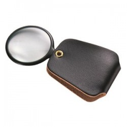 General Tools - 532 - 2.5x Magnifier W/sim.leather Case