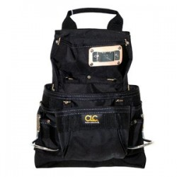 CLC (Custom Leather Craft) - 5833 - Custom Leather Craft 5833 9-Pocket Handle Deisgn Ballistic Poly Nail And Tool Bag