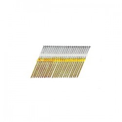 B&C Eagle - 614X162HDS/22 - 6-1/4 In. x .162 Full Round Head Plastic Collated Screw Hot Dip galv Framing Nails, 1, 000/Box