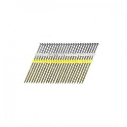 B&C Eagle - 614X162S/22 - 6-1/4 In. x .162 Full Round Head Plastic Collated Screw Bright Framing Nails, 1, 000/Box