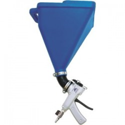 Marshalltown Trowel - 16356 - SharpShooter I Hopper Gun with 45 Degree Angle Adapter