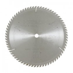 "Hitachi - 725206 - 10"" 72 Tooth Tct Atb 5/8"" Arbor Wood Saw Blade"