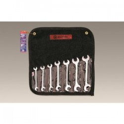 Wright Tool - 734 - 7 pc. Open End, Double Angle 15 & 60 Degrees