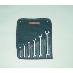 Wright Tool - 736 - 6 pc. Open End Wrench Set 1/4 In. to 15/16 In.
