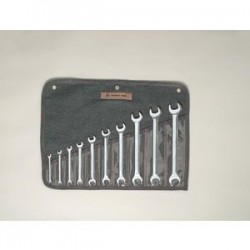 Wright Tool - 741 - 10 pc. Metric Open End Wrench Set