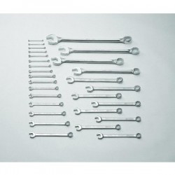 Wright Tool - 760 - 28 pc. 12 Pt. Metric Combination Wrench Set, 6 mm to 50 mm