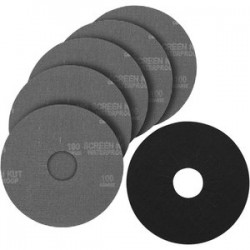 Porter Cable - 79100-5 - Porter-Cable 79100-5 100 Grit Hook & Loop Drywall Sander Pad & Discs - 5 Pack