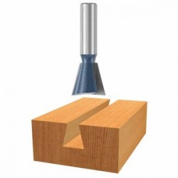 """Bosch - 84703M - 1/2"""" Cut Dovetail Bit 1/4"""" Shank"""