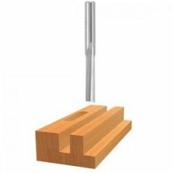 """Bosch - 85154 - 1/4"""" Hss Straight Bit 1-flute-lon"""