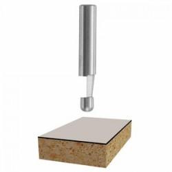 Bosch - 85286 - 7deg. Solid Carbide Bevel Trim Router Bit, Ea