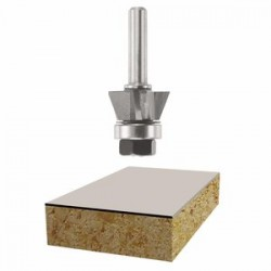 "Bosch - 85420M - 7/8"" 3-flute Laminate Trimmer Router Bit"
