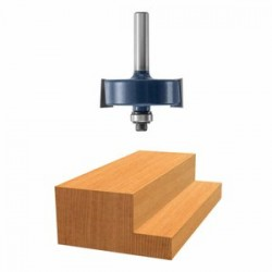 "Bosch - 85614M - 1/2"" Rabbeting Router Bit 1/4"" Shnk W"