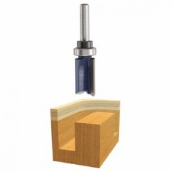 """Bosch - 85681M - 5/8"""" Top Bearing Straight Bit Router Bit"""