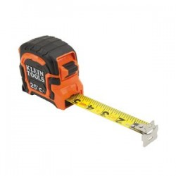 Klein Tools - 86225 - Klein Tools 25ft Magnetic Tape Measure - Double Hook