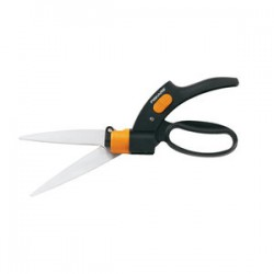 Fiskars - 92146964J - Fiskars Shear Ease Grass Shears - Steel - 1 lb - Lightweight Handle, Rotating Blade, Loop Handle, Lockable