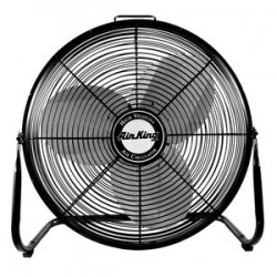 Air King - 9220 - Air King 9220 Floor Fan - 3 Blades - 20 Diameter - 3 Speed - 35.5 Height x 12.3 Width x 33.8 Depth - Steel Housing, Steel Blade