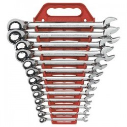 GearWrench - 9509N - 13pc Reversible Comb Ratwrench Sae Non Capstop